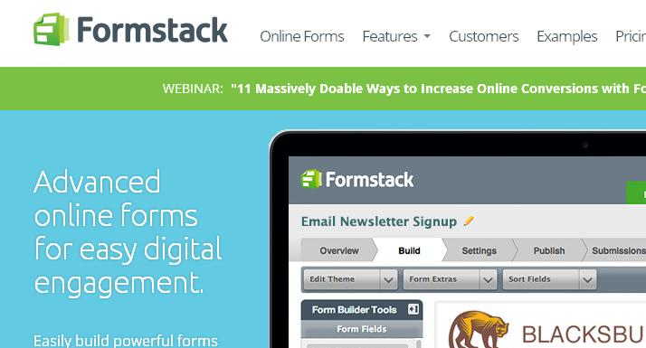 FormStack Form Creation Tool