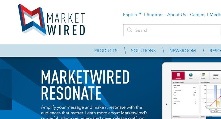 Market Wire News Distribution Network