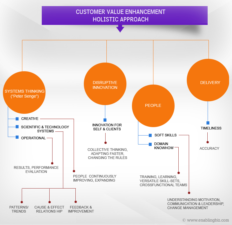 EnablingBiz Customer Value Enhancement Model