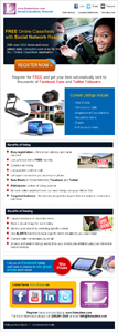 Newsletter design of Listmyitem